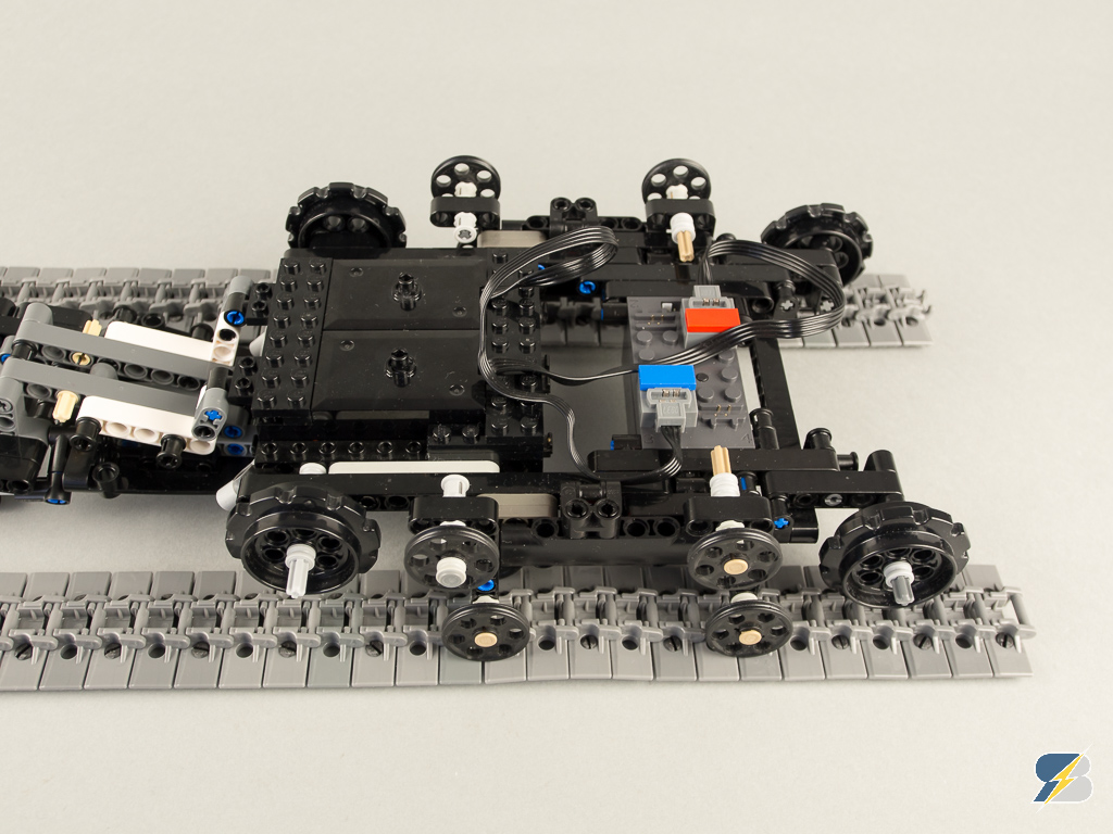 lego technic tracked racer instructions