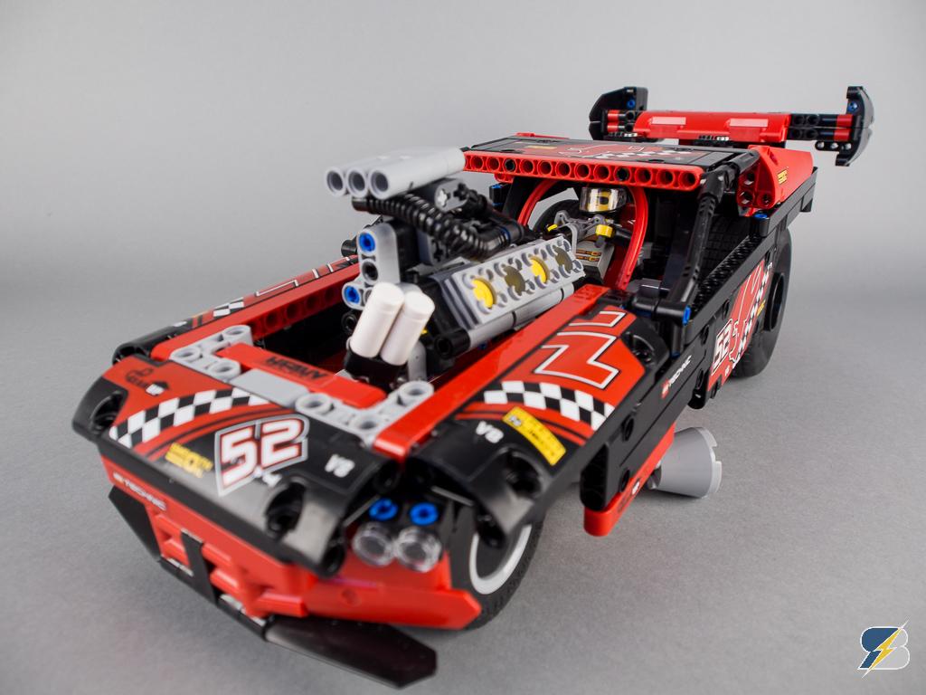 42050 Drag Racer Upgrade Real Wheelies Racingbrick