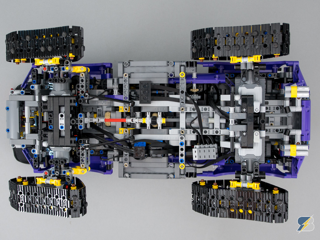 Lego Technic 42069 RC mod with Power Functions and SBrick