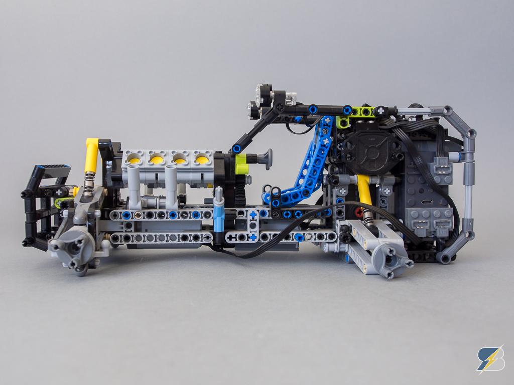 Lego Technic 42037 Formula Off Roader Rc Mod Detailed