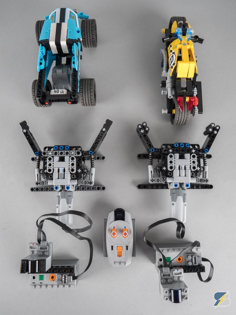 lego technic stunt truck stunt bike slow motion jumps. Black Bedroom Furniture Sets. Home Design Ideas