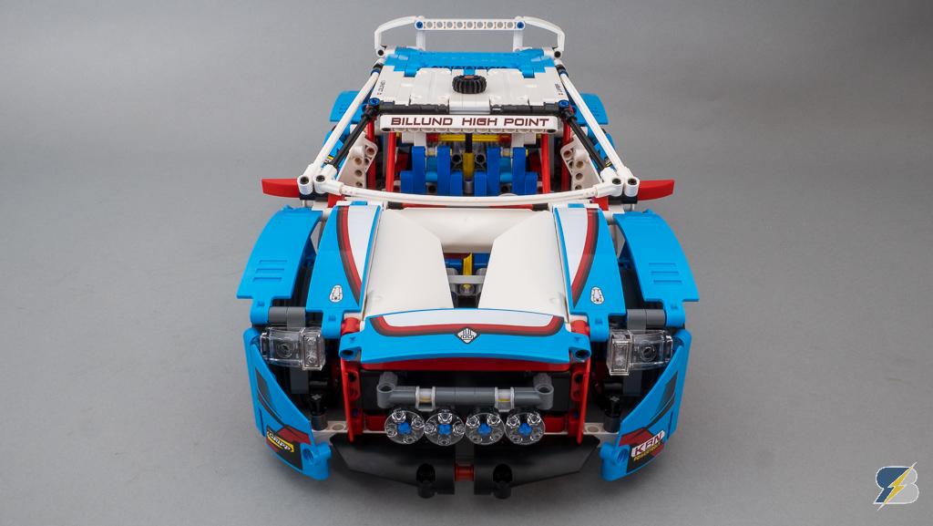 Lego Technic 42077 Rally Car speed build & features – RacingBrick