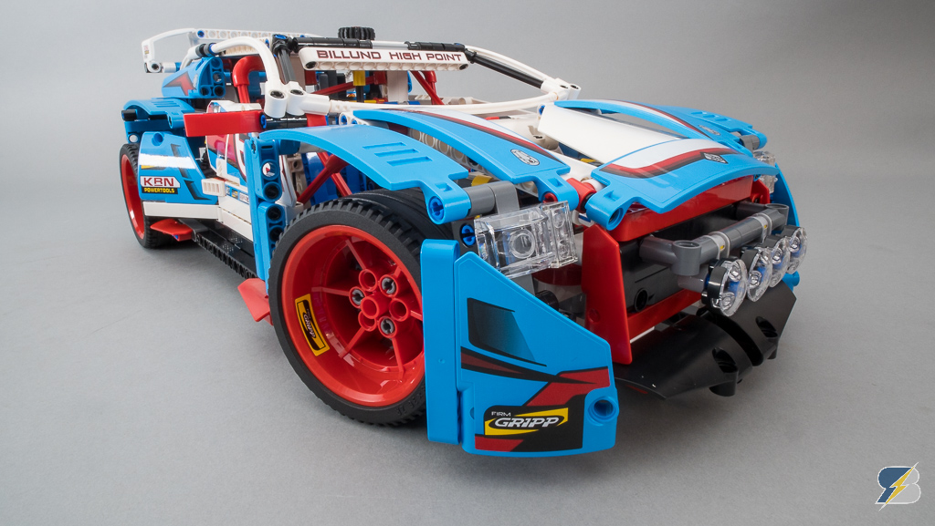 lego rally car instructions