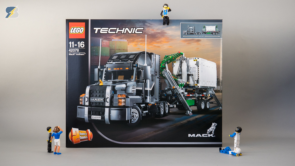 Lego Technic 42078 Mack Anthem Unboxing Review Speed Build