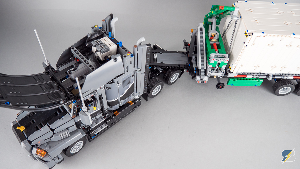Lego Technic 42078 Mack Anthem Test Rc Mod Images Racingbrick
