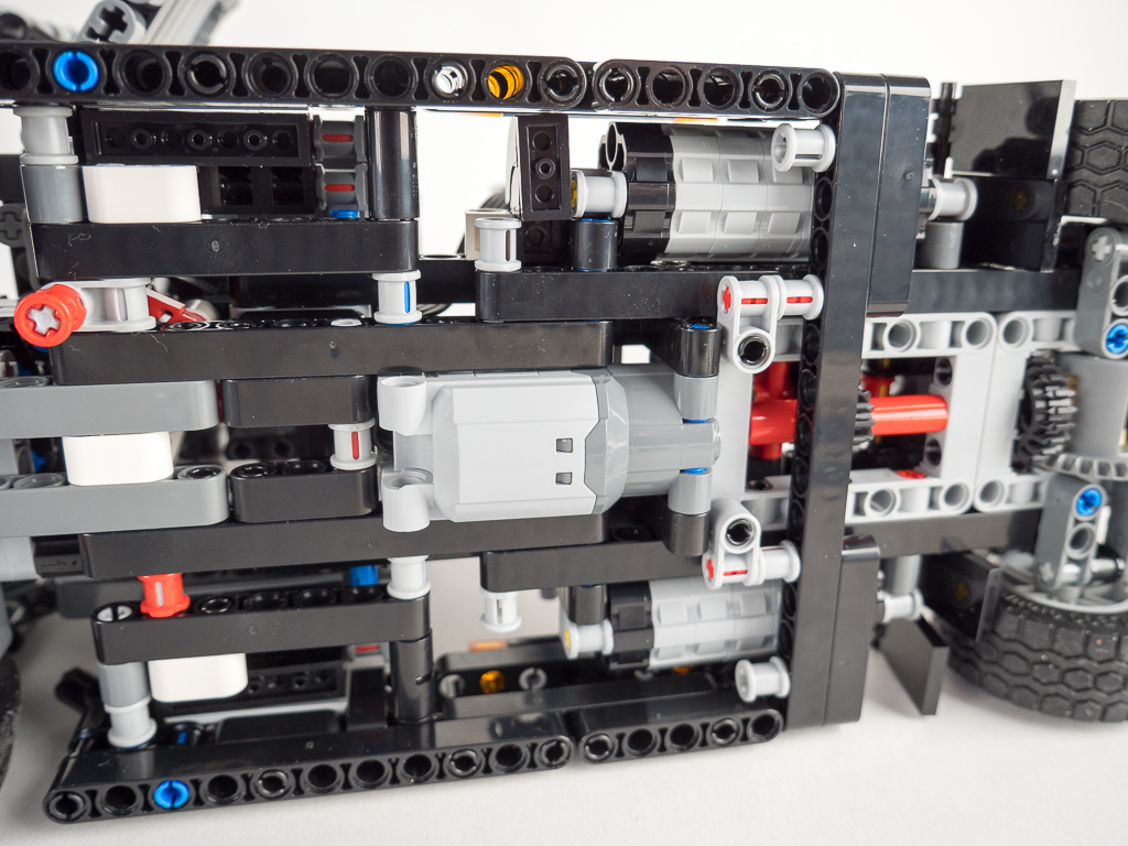 lego technic 42078 mack anthem test rc mod images. Black Bedroom Furniture Sets. Home Design Ideas