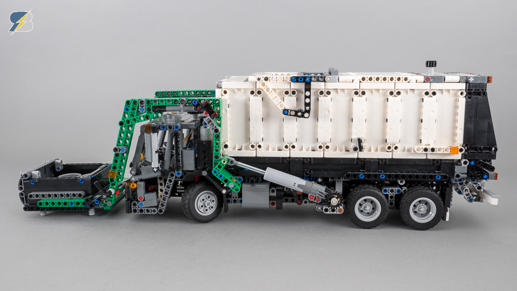 Lego Technic 42078 Mack Lr Garbage Truck B Model Speed Build