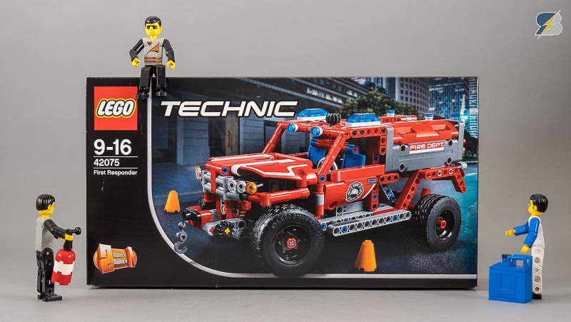 42075 First Responder Speed Build Review Rc Mod Lego Technic