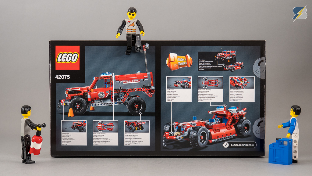 Lego Technic 42075 First Responder Unboxing Speed Build Review