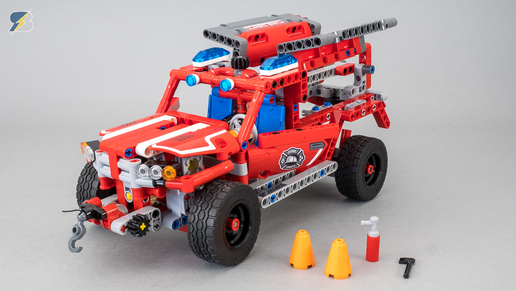 Lego Technic 42075 First Responder Unboxing Speed Build