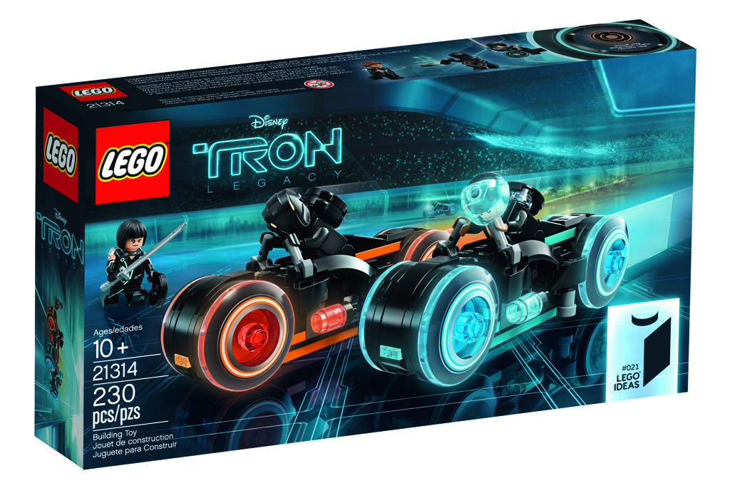 Lego Minifig Camera : Lego ideas tron legacy available from st march