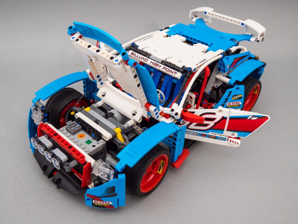 LEGO® Technic 42077 Rally Car 2WD RC mod | RacingBrick