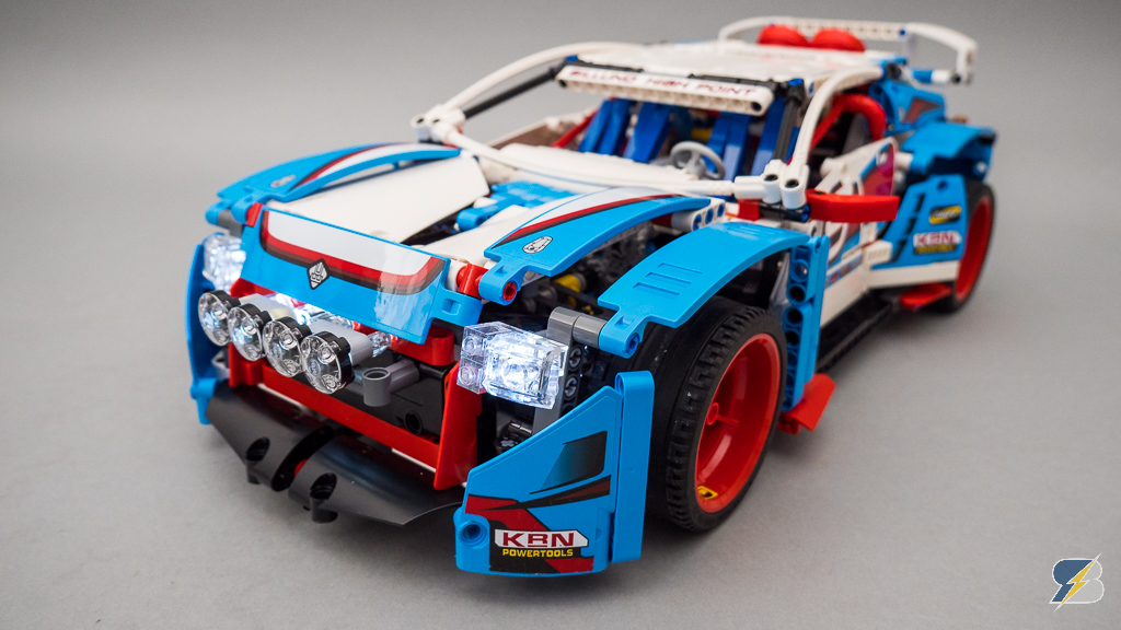 Lego Technic 42077 Rally Car 2wd Amp 4wd Rc Mod With