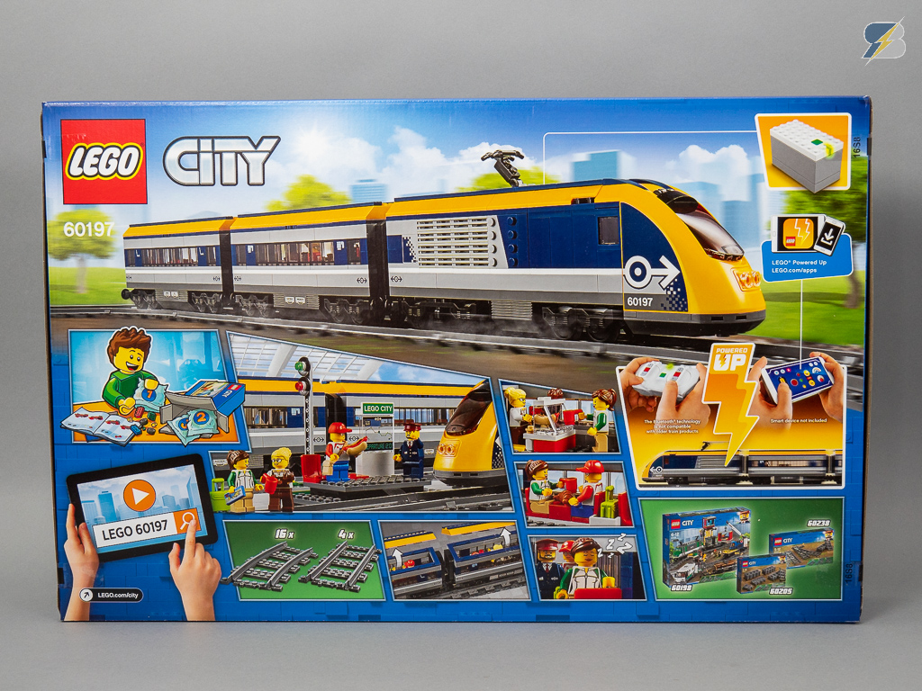 LEGO City 60197 Passenger Train unboxing & review - RacingBrick