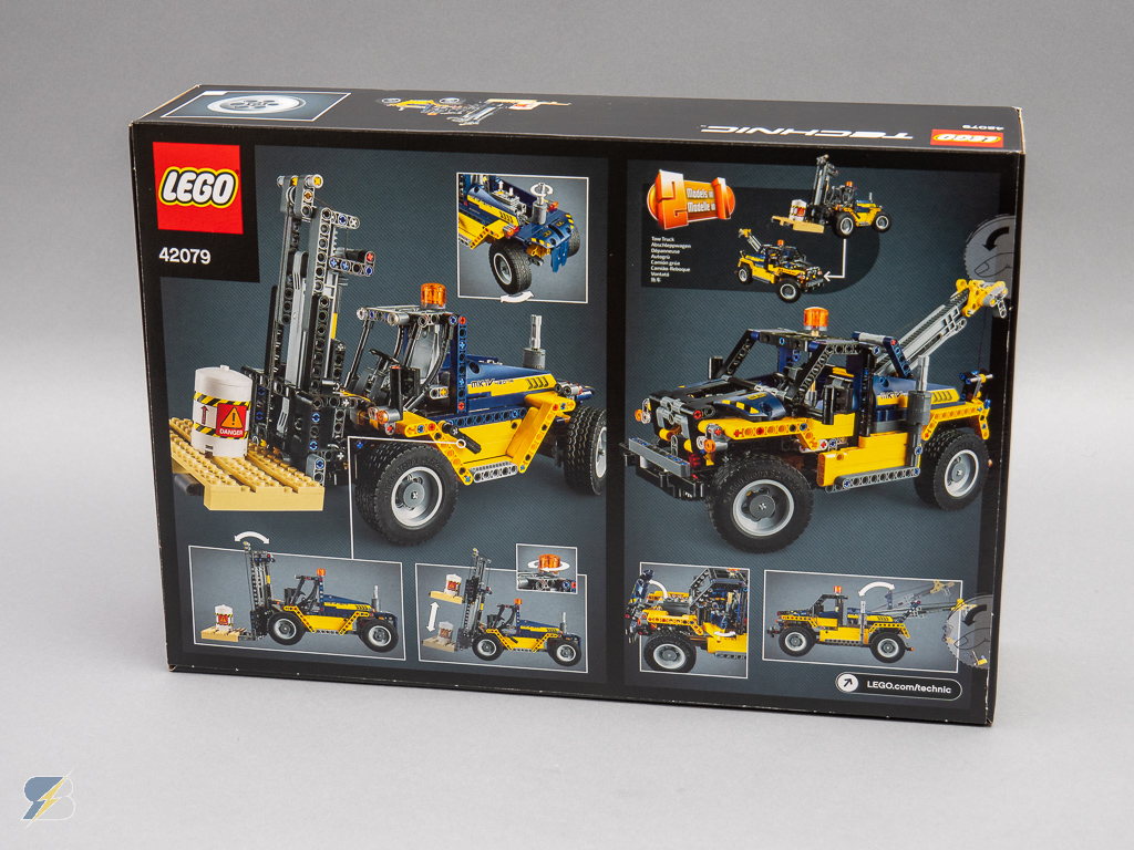 lego technic 42079 heavy duty forklift speed build. Black Bedroom Furniture Sets. Home Design Ideas