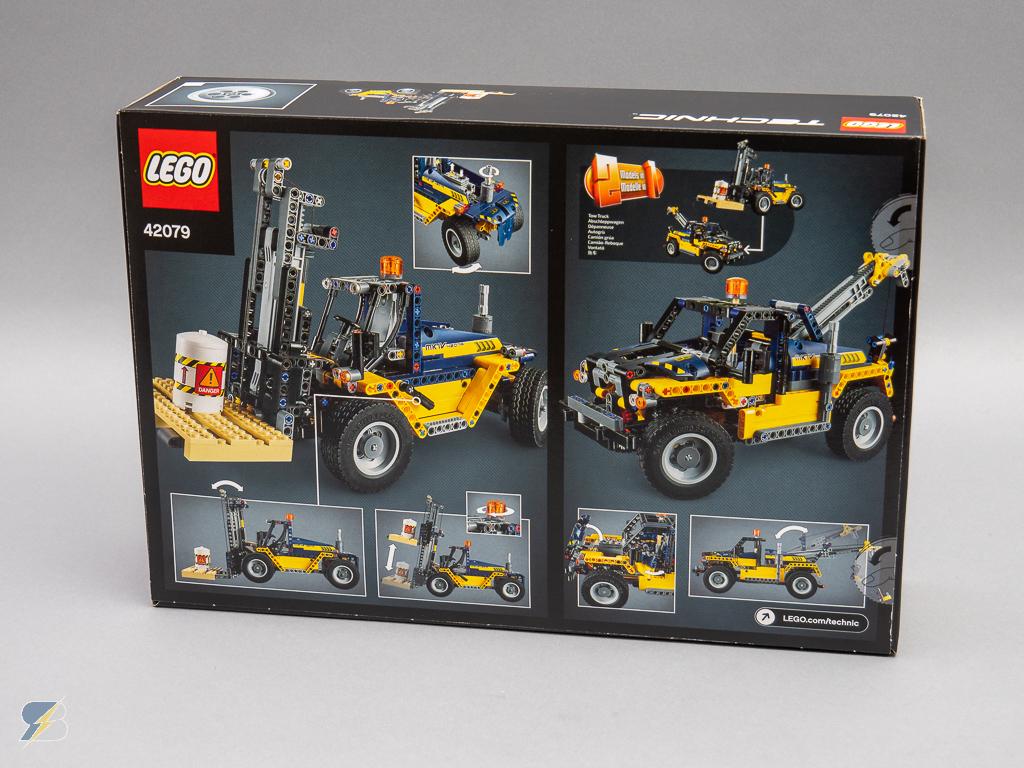 lego technic 42079 heavy duty forklift speed build. Black Bedroom Furniture Sets. Home Design Ideas