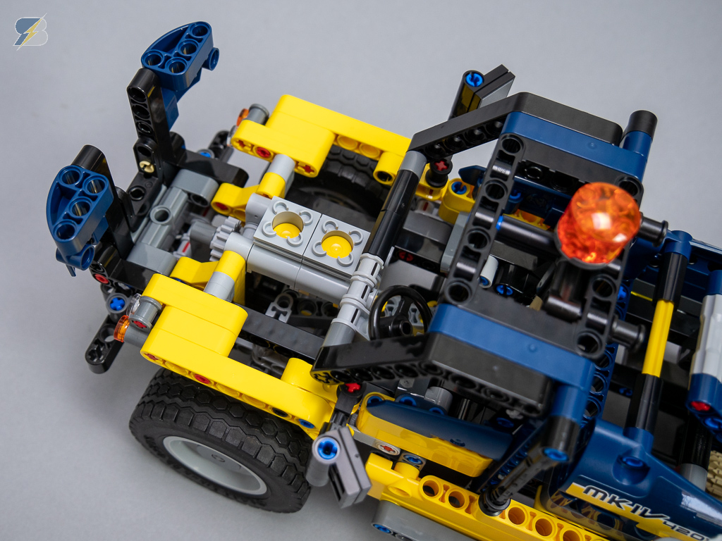 LEGO Technic 42079 Tow Truck (B model) speed build & review