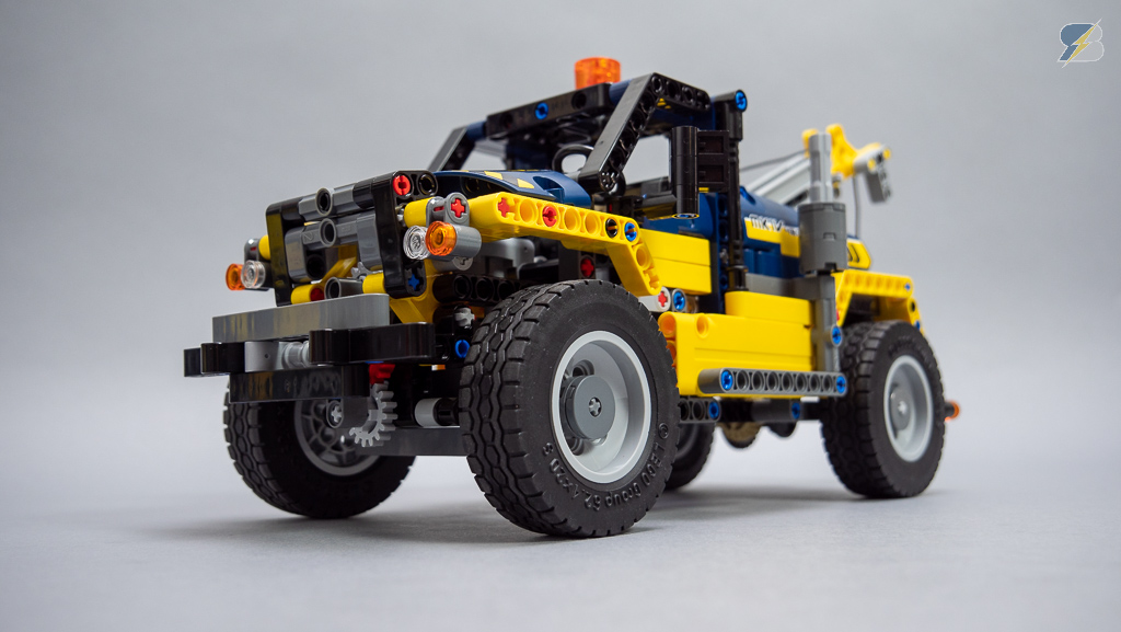 Lego Technic 42079 Tow Truck B Model Speed Build Review