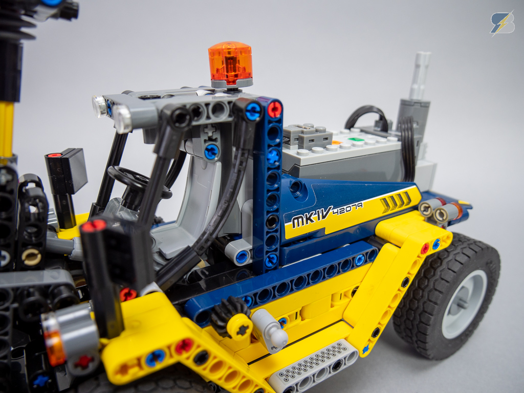 Lego Technic 42079 Heavy Duty Forklift Rc Mod With