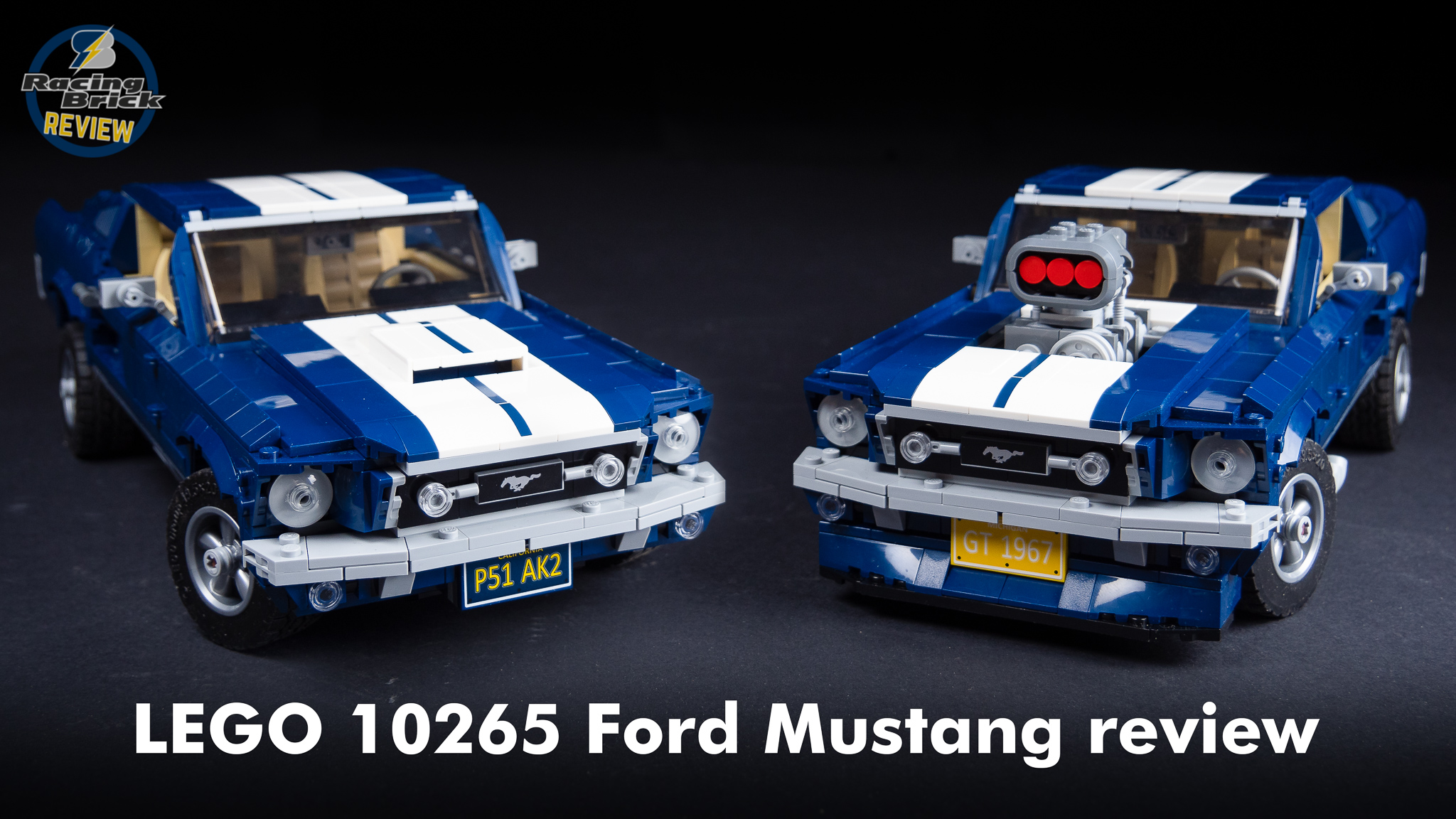 Lego Creator Expert 10265 Ford Mustang Unboxing Speed Build And