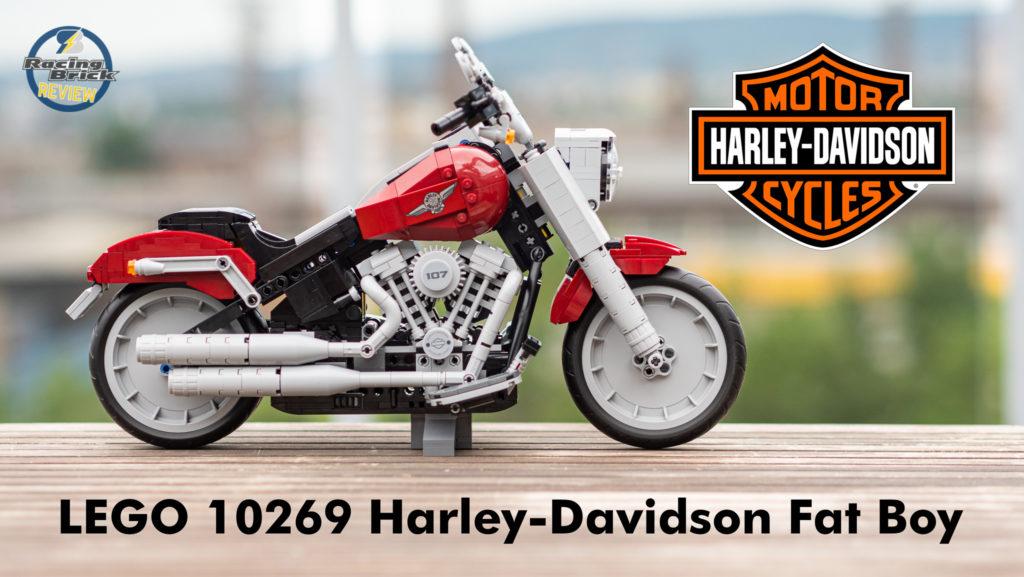 Harley Davidson: LEGO Creator Expert 10269 Harley-Davidson Fat Boy Unboxing