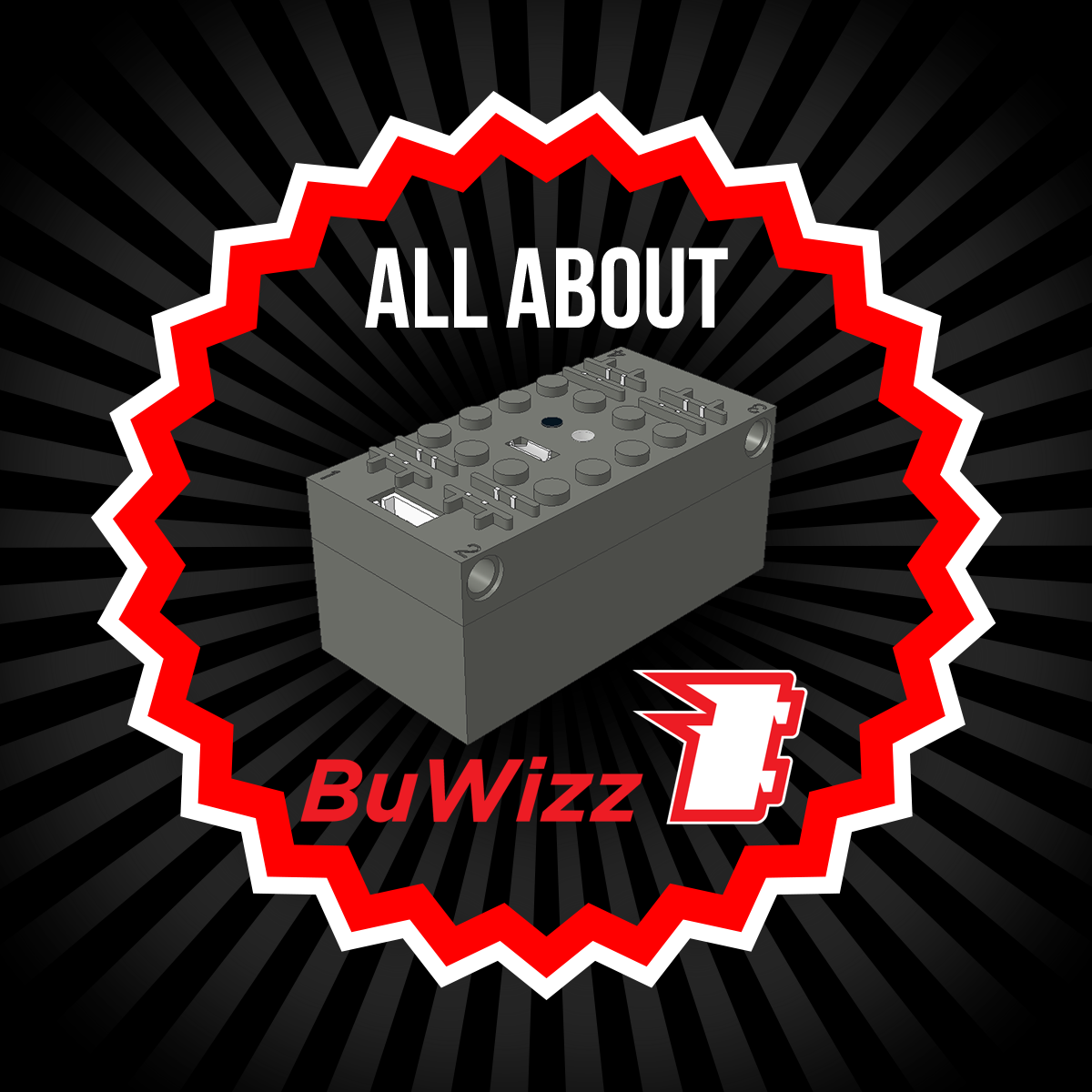 BuWizz - remote control for LEGO